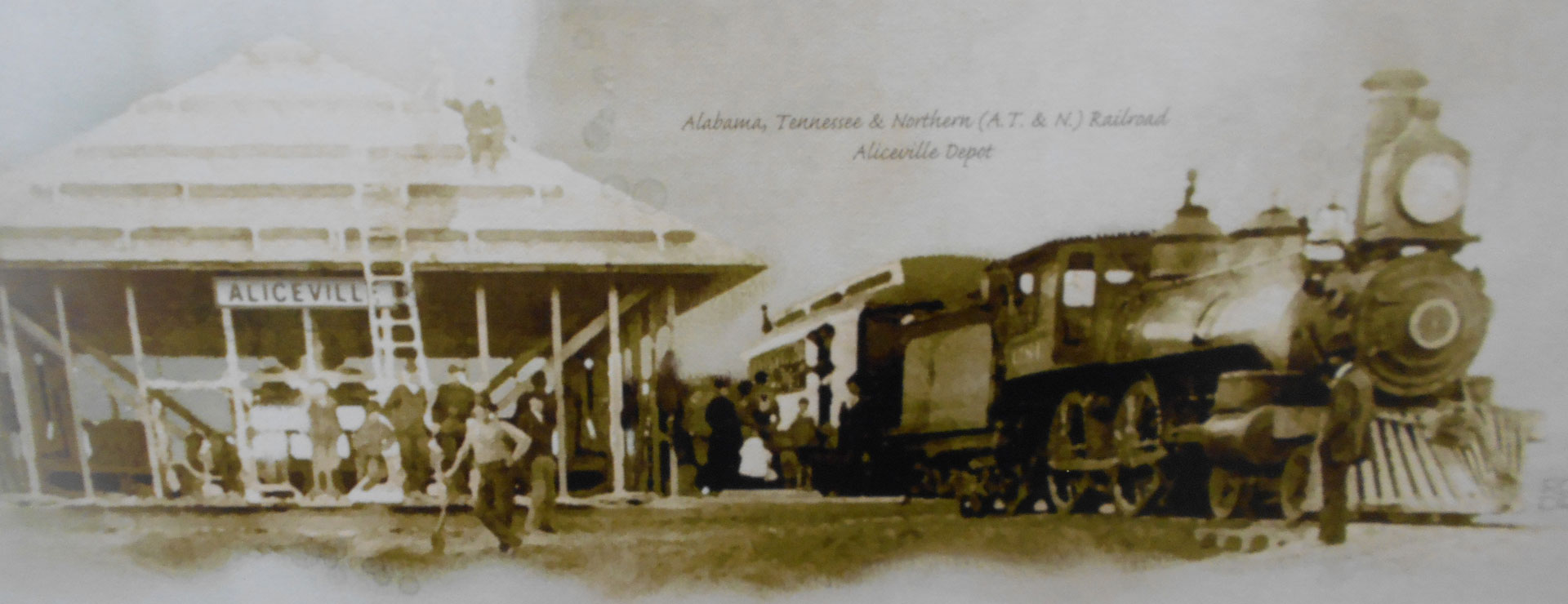 AT&N (Alabama, Tennessee and Northern) railroad depot